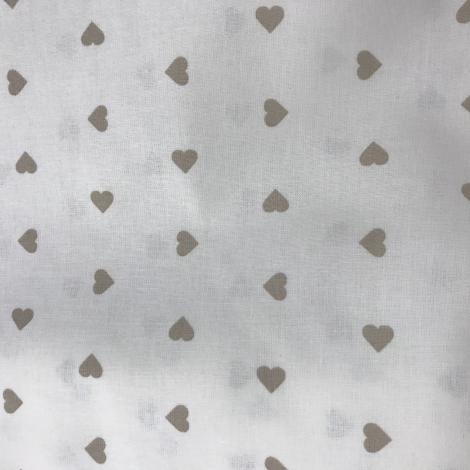 COTONE CUORICINO naturale/beige