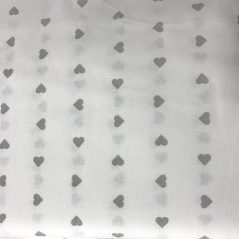 COTONE CUORICINO naturale/grigio