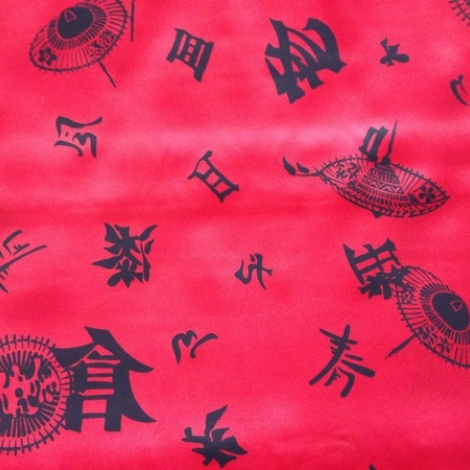RASO CARNEVALE Cinese rosso