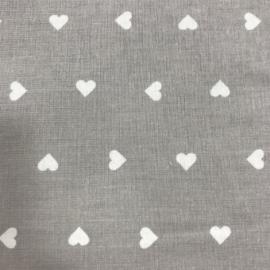 COTONE CUORICINO grigio/naturale
